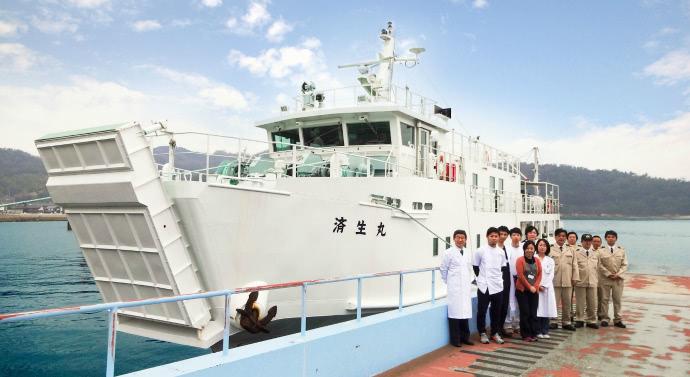 瀬戸内海巡回診療船「済生丸」