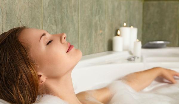 ぐっすり眠れる入浴方法